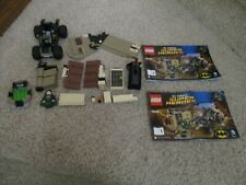 LEGO 76056 Super Heroes missing pieces only one figure has stickers