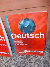 Deutsch: Aufsatz: Erzählen, 5./6. Klasse, Übungsbuch