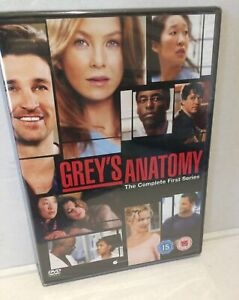 Grey's Anatomy Dvd First Series Brand New & Sealed DVD 3 x Disc Set Complete