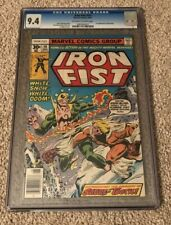 Iron Fist #14 CGC 9.4 1st app of Sabretooth, NO RESERVE!