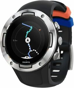 SUUNTO 5 GPS Sports 46 mm  Smart Watch | Heart Rate Monitor (Black Steel)