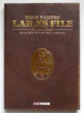 TOMB RAIDER 2 Adventure Guide Lara's File PS Book