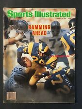 Sports Illustrated Magazine August 24 1981 L.A. Ram Wendell Tyler NL NM
