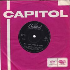 """BOBBIE  GENTRY / GLEN CAMPBELL..ALL I HAVE TO DO IS DREAM..EXCELLENT 1969 POP 7"""""""