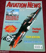 Aviation News 2002 August VC10,Westair ATP,Vulcan,Beriev Be-12