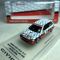 1/64 INNO64 Honda Civic EF9 SiR #1 Ayrton Senna Test Car at Suzuka 1989 Toyshow