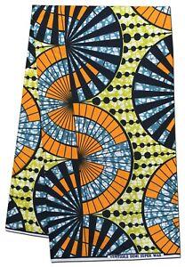 Beautiful Multicolored New Design African Fabric Wax Print Sewing Craft Per Yard