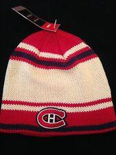 Montreal Canadiens NEW Adult Winter Knit Hat . NHL Hockey Warm Men Women Reebok