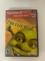 Shrek 2 Play Station 2 Used Game Free Shipping In USA