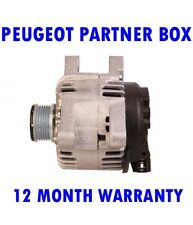PEUGEOT PARTNER BOX HDI 1.6 2008 2009 2010 2011 2012 - 2015 ALTERNATOR