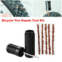 Bicycle Tire Rubber Strip Tire Repair Drill Puncture Tool Kit For Tubeless Tire