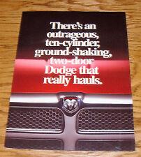 Original 1994 1995 1996 Dodge Ram Pickup Foldout Sales Brochure 94 95 96