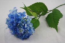 Artificial Single Stem Small Hydrangea - Blue Wedding Flowers