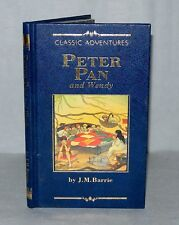 Peter Pan And Wendy- J.M. Barrie-  HB, c1990's Fabbri, Classic Adventure