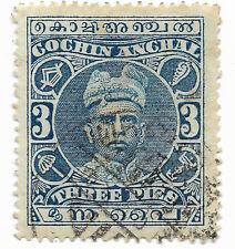 Travancore, 1911 - Cochin Anchal - Achat groupé : livraison gratuite pour 5 lots