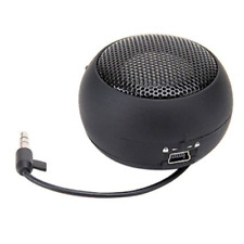 Mini Hamburger Speaker Rechargeable with Extension Cord for MP3 Audio Laptop PC