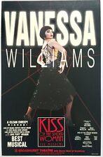 """Kiss Of Spider Woman"" Original Broadway Window Card Poster ~ Broadhurst Theatre"