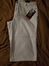 Style & Co. Tummy Control Capri Jeans Women's Size 16 Bright White Wash