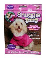 Dog Snuggie Pink M ( Medium ) Brand New Unisex Fleece Dog Coat