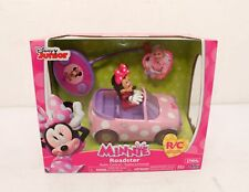 New listing Disney Junior Minnie Mouse Roadster Car Rc/Remote Control Toy Vehicle Pink New