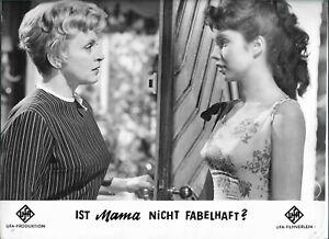 11 x 9 Original Photo D' Luise Ullrich En Ist Mama Pas Fabelhaft ?