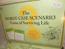 THE WORST-CASE SCENARIO BOARD GAME OF SURVIVING LIFE UNUSED EXCELLENT CONDITION