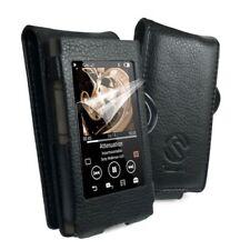 Cover e custodie nero in pelle sintetica per lettori MP3 per Sony