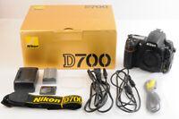 【NEAR MINT 19603 Very Low Shot】NIKON D700 12.1MP Camera Body +32G CF Strap JAPAN