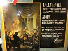 (SEALED LP)  KALKBRENNER Quintet for Clarinet,horn,cello ,double bass & piano