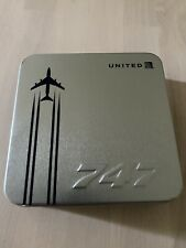 United Airlines Celebrating The 747 Amenity Case
