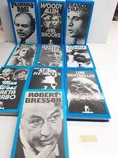 FILM - Konvolut - 10 Bände - Bresson Woody Allen Brooks Truffaut ROSI