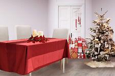 Tovaglia Floris per le feste di Natale, di ottima qualità italiana (col.97)