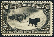 292, Mint OG H - Cattle Trans Mississippi CHEAP! Cat $1500.00 - Stuart Katz