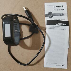 Garmin Vivosmart HR+ Regular Fit GPS Activity Tracker - Black