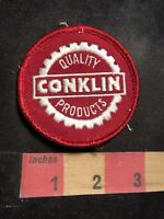 Vintage QUALITY CONKLIN PRODUCTS Advertising Patch 91NT