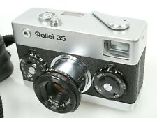 Rollei 35 chrom Tessar 3,5/40 s. guter u. funktionsf. Zustand nice and working