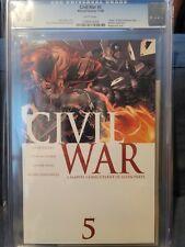 Civil War #5, CGC 9.8, Marvel Comics, November 2006 A Marvel comics event