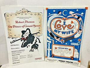 Rare Theater Posters I Love My Wife The Prince Of Grand Street Window Cards 70's