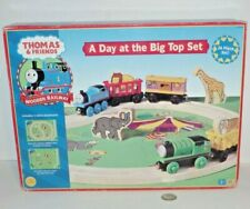 Thomas & Friends Train Tank Wooden Railway - Day at the Big Top Set NEW - Circus