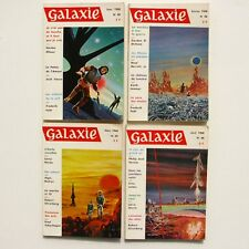 Lot de 4 livres GALAXIE n°45-46-47-48- 1968 - Science Fiction - Fantastique