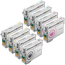 8 Pack Ink for Epson T098 / T099 Epson Artisan 700 710 725 730 800 810 835 837