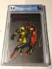 Astonishing Spider-man Wolverine 1 Cgc 9.8 White Pages