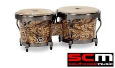 RRP$330! Percussion LPA601 HC HAVANA Bongos Cafe Aspire Wooden Bongo Hand Drums