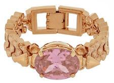 MAWI LONDON Gemstone & Spikes Strap Gold Plated Bracelet BNIB