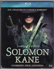 Blu-ray SOLOMON KANE Guerriero, eroe, leggenda James PUREFOY