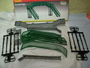 Railway Footbridge Kit By Hornby No R076 '00' Gauge Original Box, Excellent Item