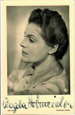 Magda Schneider Ross A 3287/1  signiert, Autogramm ( Mutter von Romy Schneider )