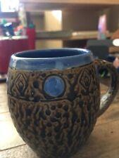 Always Azul Pottery Textured Mugs