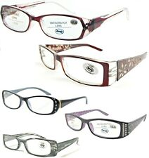 Ladies Fancy Diamantes Rhinestone Detailed Reading Glasses Selection +0.50~+3.75