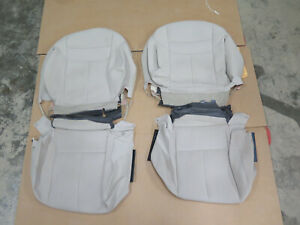 2015-2017 Nissan Murano S & SV OEM cloth seat cover set  TAN